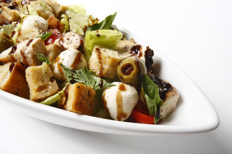 Chicken Bacon Mozzarella Salad