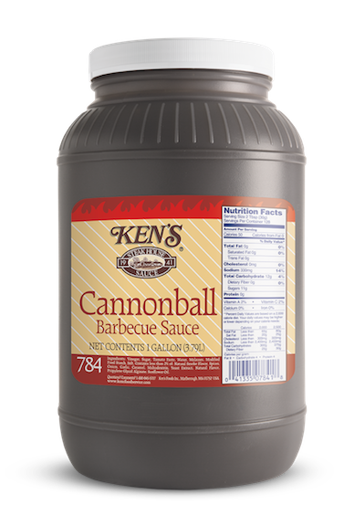Ken's Foodservice | Cannonball Barbecue Sauce