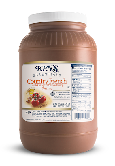 Ken's Foodservice | Ken's Essentials Country French with
