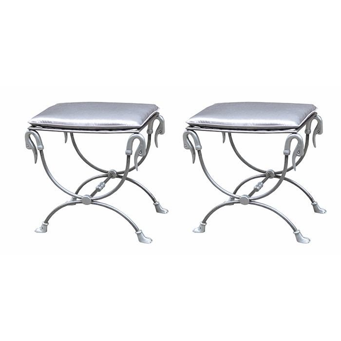 Surprising Pair Of Turn Of The Century Cast Iron Stools Karl Kemp Caraccident5 Cool Chair Designs And Ideas Caraccident5Info